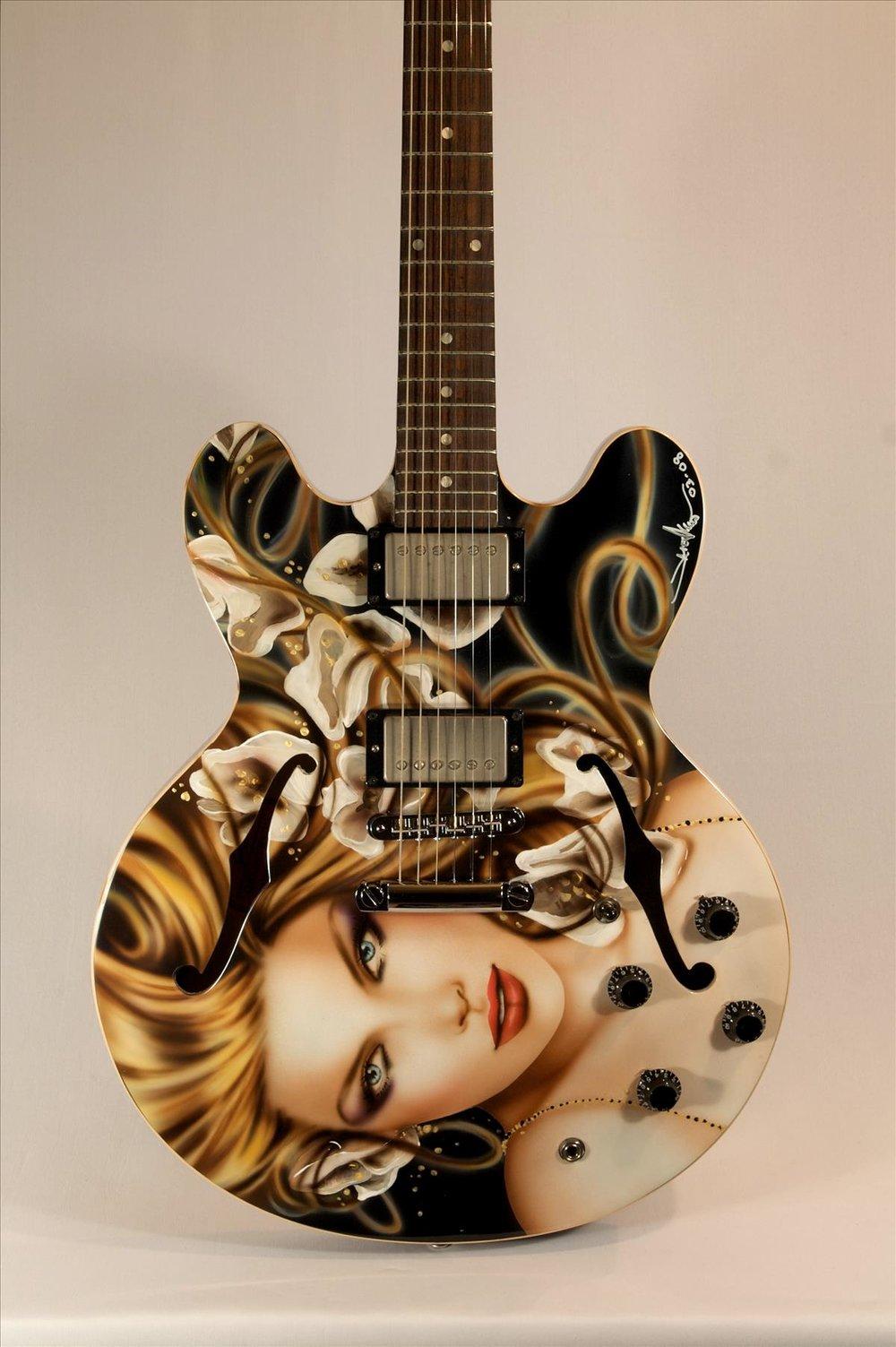 """Spring Dance"" Gibson ES335"