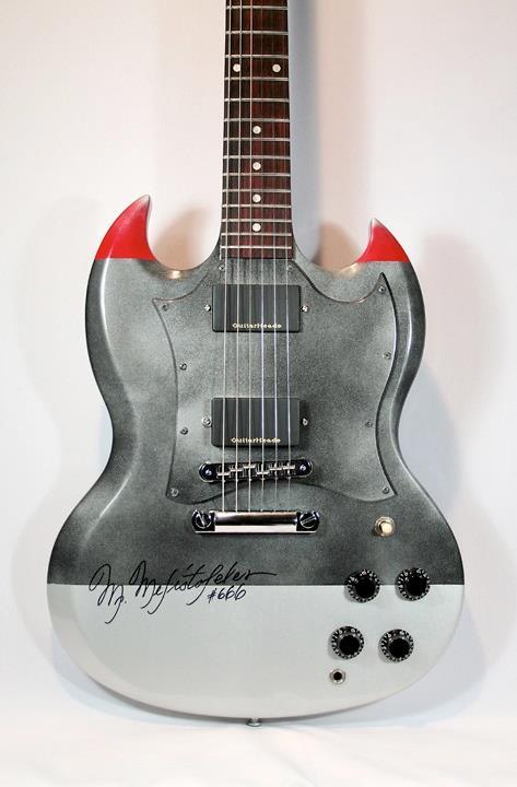 "Gibson ""Metal"" SG Standard"