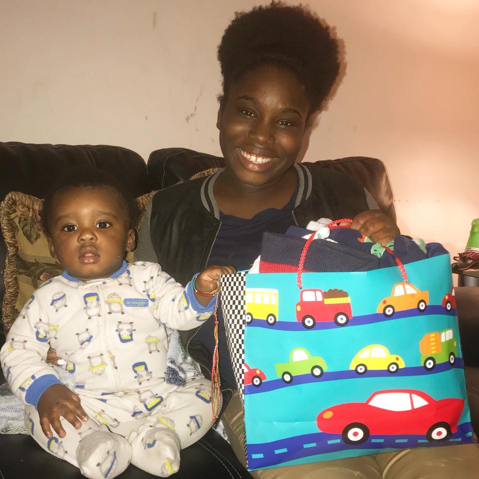 Mommin' Society does it again!😍💕This handsome baby boy will be nice and warm all winter!🌬💙Thank you all for donating lightly used baby clothing, as well as, monetary donations to assist mothers throughout their motherhood journey. Most of all, thank you to this beautiful mother for allowing Mommin' Society to assist her, you're amazing!💁🏾✨😍 #momminsociety  #momgoals  #justmommin  #momminainteasy  #themomlife
