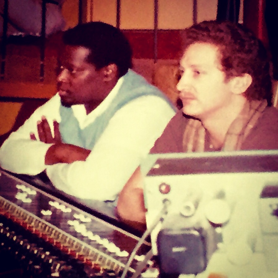Luther Vandross and Michael Brauer