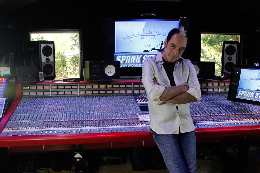 Tom's studio - Spank Studios