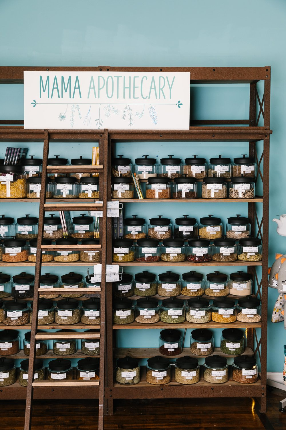 Mama Bath + Body Apothecary Section at Avondale Estates