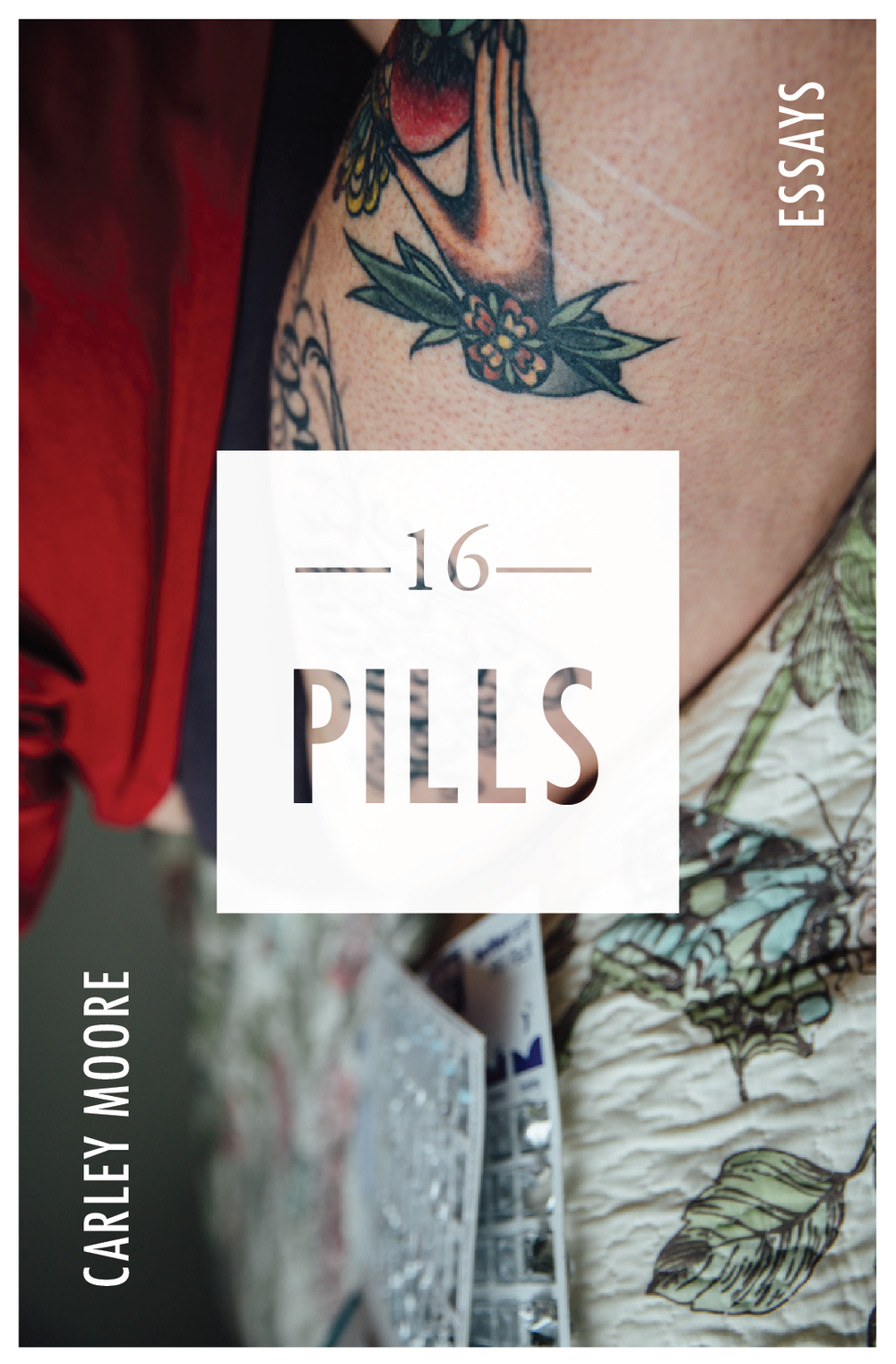 16 Pills - my debut essay collection from Tinderbox Editions