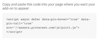 Pinterest Save Button Widget Script from Pinterest Developers