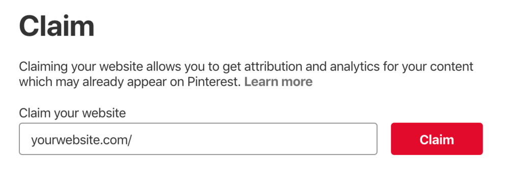 How to claim your website on Pinterest - Untangled Pinterest Marketing