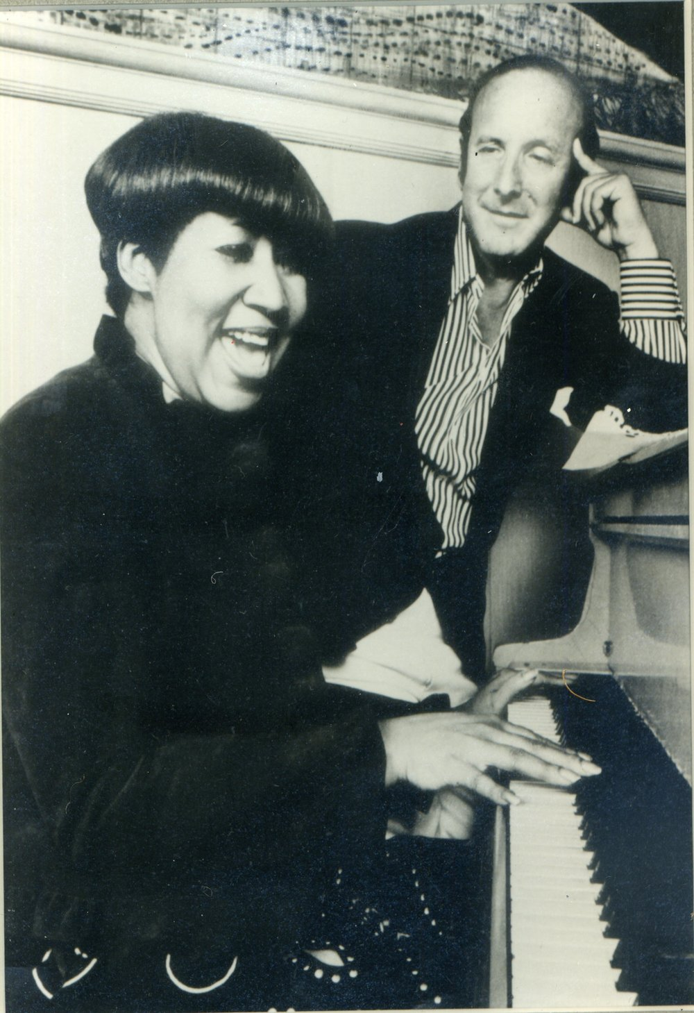 Since Aretha Franklin left Atlantic Records in 1979, many of her most successful records have been executive-produced by Clive Davis