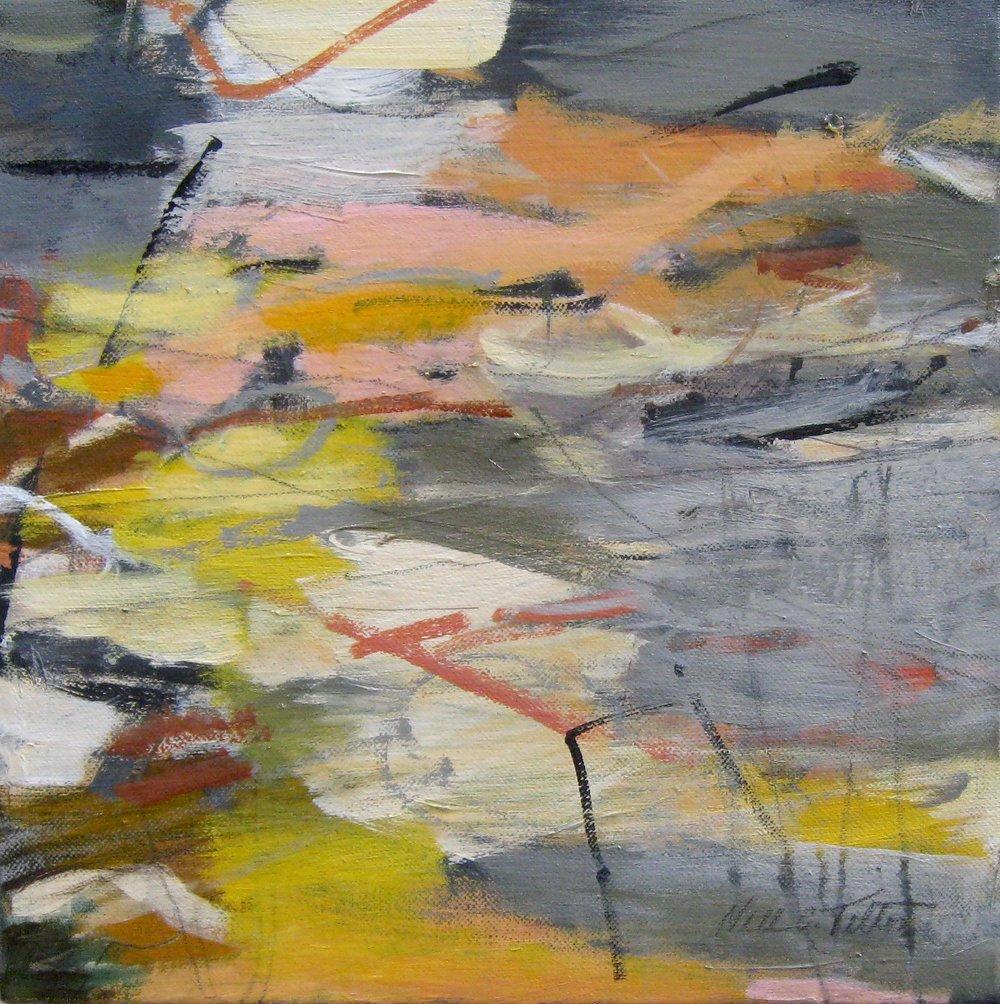 "Sold SPIRIT 12"" x 12"" Acrylic/Mixed Media on Canvas"