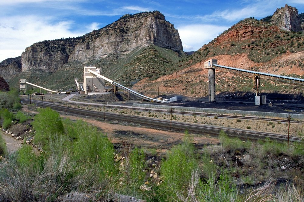 Landscape of a coal site in Utah.  Credit Bureau of Land Management via www.blm.gov