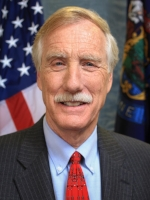 Senator Angus King, Official Portrait