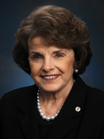 Senator Diane Feinstein, Official Portrait