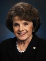 Senator Dianne Feinstein, Official Portrait