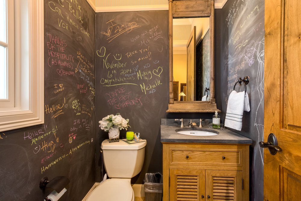 "Main Floor ""Chalkboard"" ½ Bath"