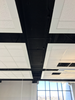 a Brock Contract Servies Ceiling project in 2017