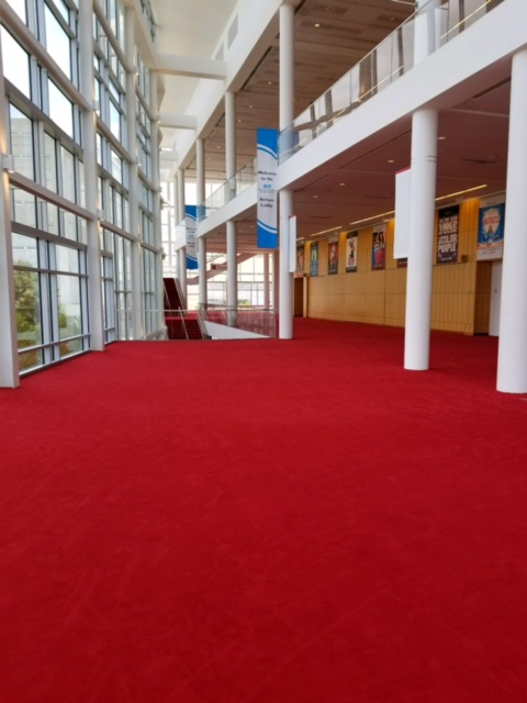 a Brock Contract Services project, Flooring Installation for DPAC