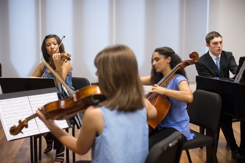 Credo Oberlin - July 1 - 29 (two - four weeks)  Credo's flagship program takes place at the Oberlin Conservatory over a period of 2-4 weeks. Students from around the globe work closely with leading artist-teachers in an atmosphere of meaningful mentorship.