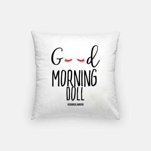 Good Morning Doll Pillow Gama