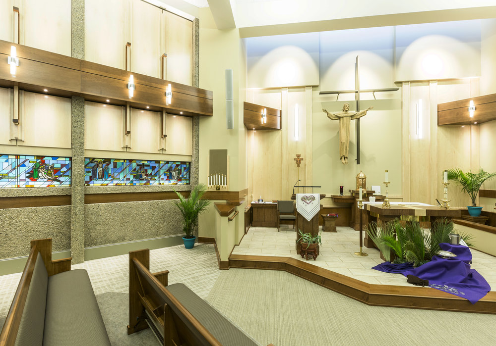 Milwaukee Catholic Home Chapel | Milwaukee, WI — GROTH Design Group