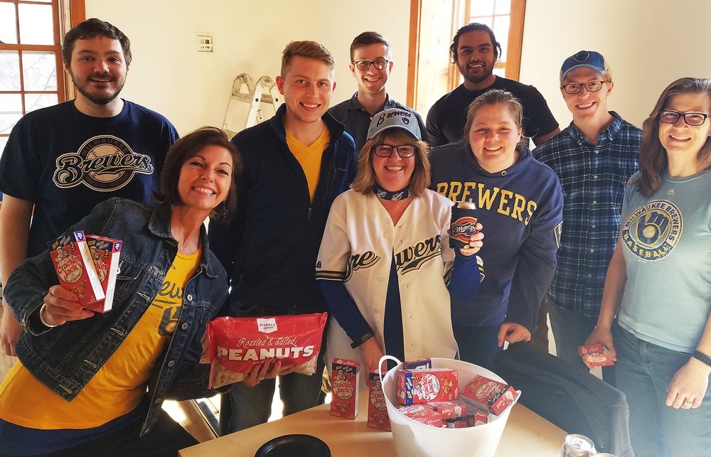 GROTH Design Group celebrates MLB Opening Day 2018.
