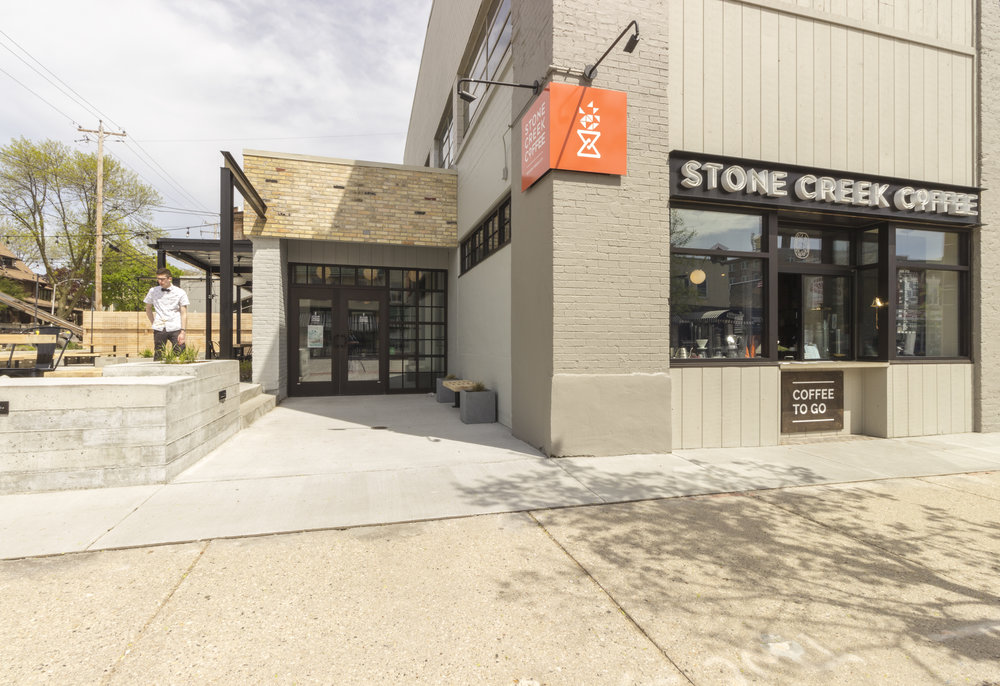 Stone Creek Coffee on Downer Ave.