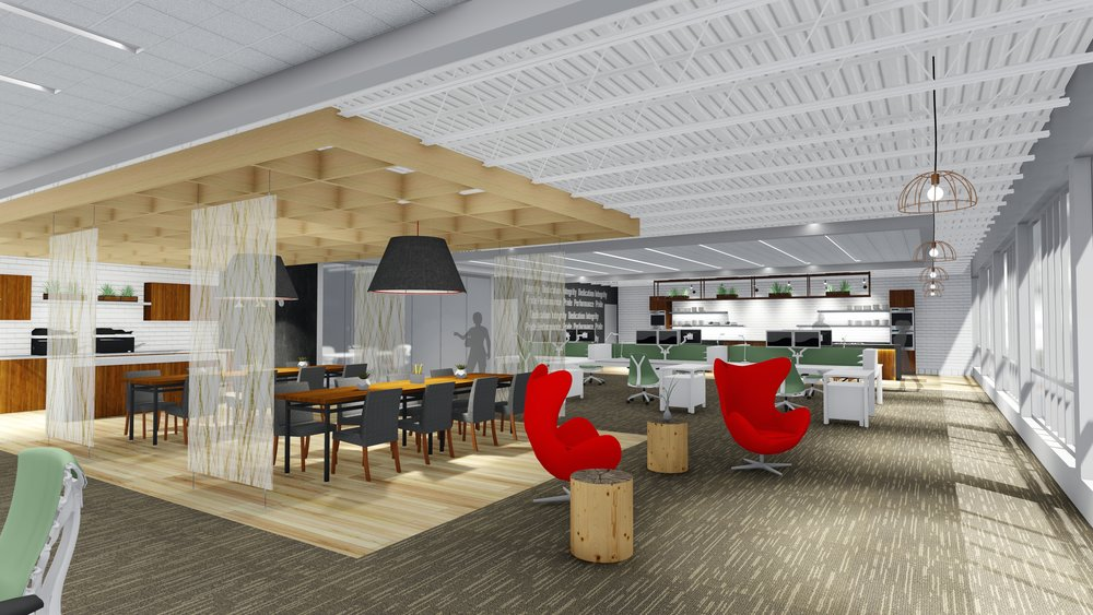 Open Offices that Inspire Collaboration