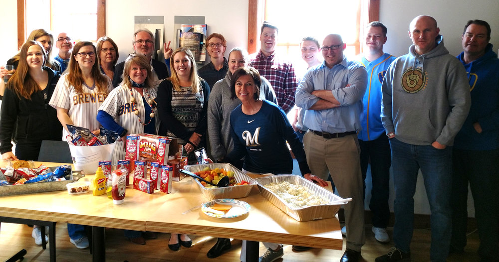 GDG's Cedarburg office celebrates MLB Opening Day 2019.