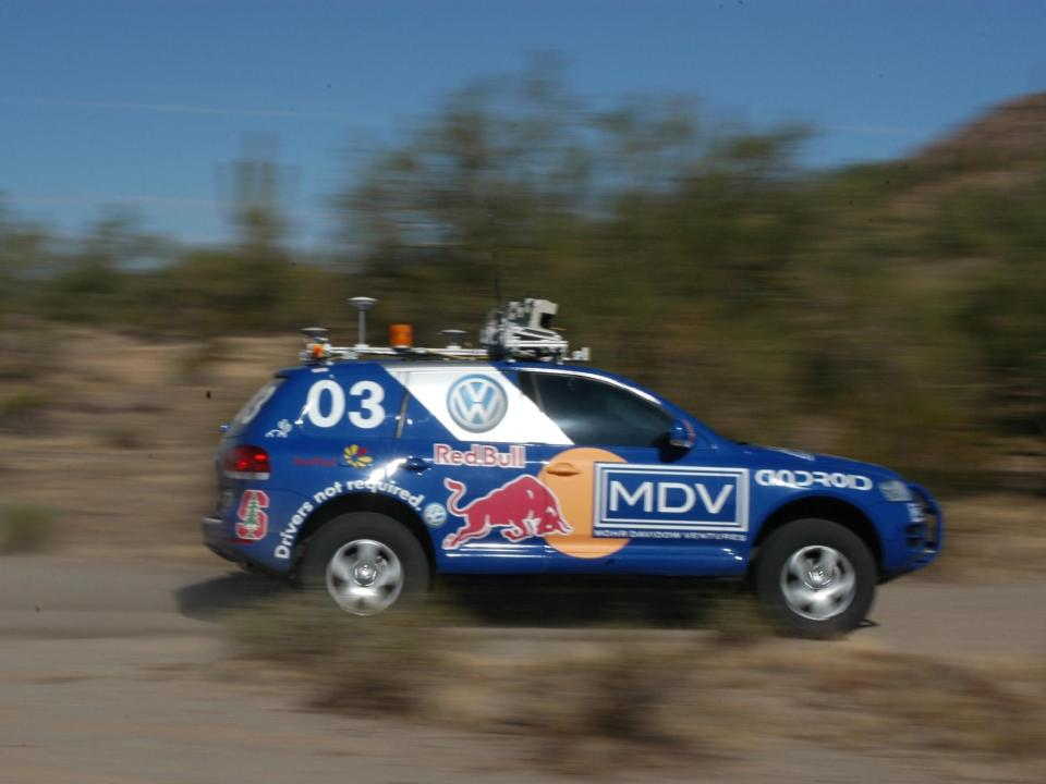 Stanley, the first self-driving car to complete the DARPA Grand Challenge