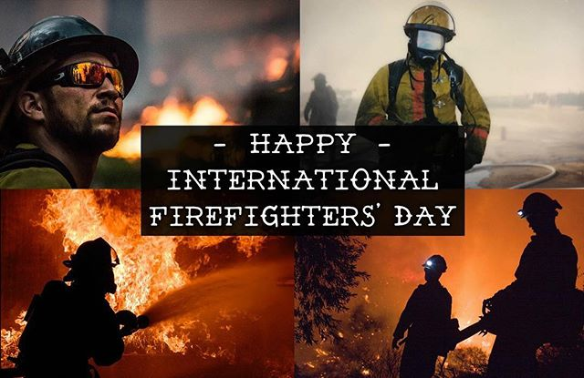 Happy International Firefighters' Day! We are so thankful for all the men and women who choose to serve their community through a career in firefighting. Be sure to say 'thank you' to your favorite firefighter today!