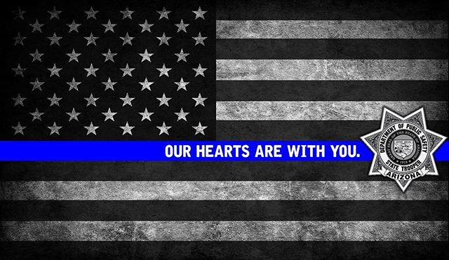 We are deeply saddened for Trooper Tyler Edenhofer's loved ones and the Arizona Department of Public Safety family. Trooper Edenhofer graduated from the DPS Academy in May of this year— there are no words. Thank you, from the bottom of our hearts, for your service. 💙