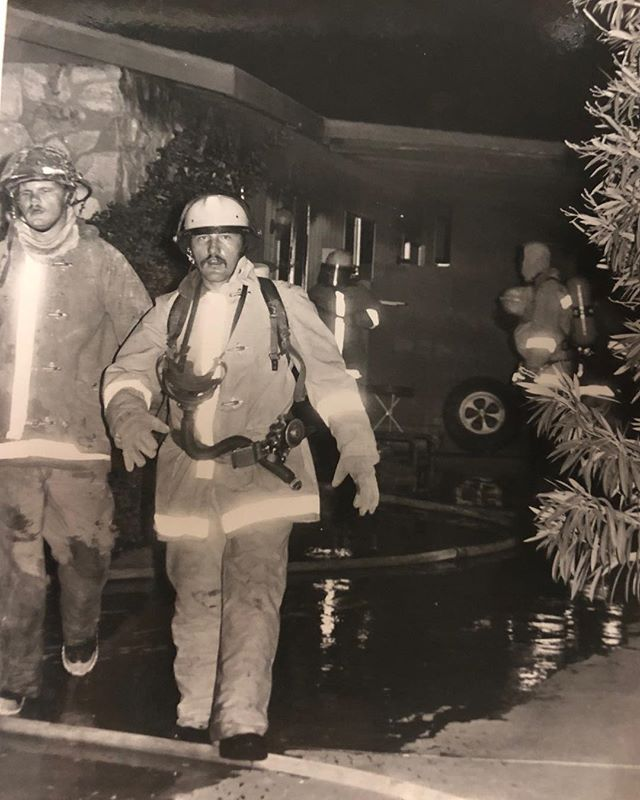 Arizona Firefighters Circa 1985.