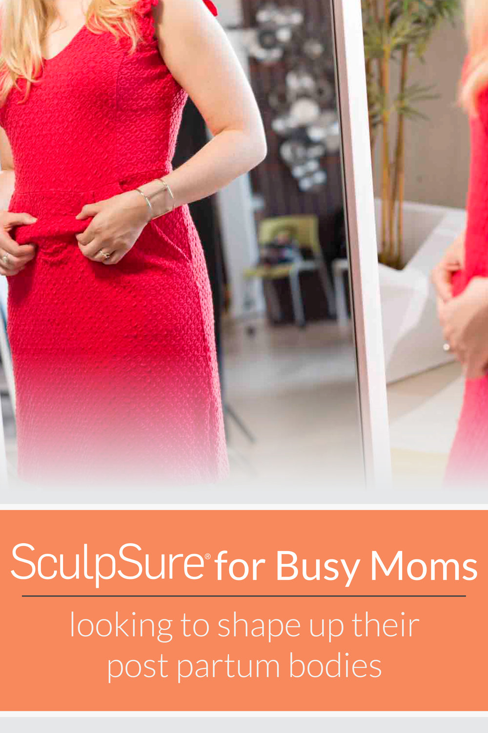 Reduce the post partum fat with SculpSure. Available at Hill Country Vitality in San Antonio.