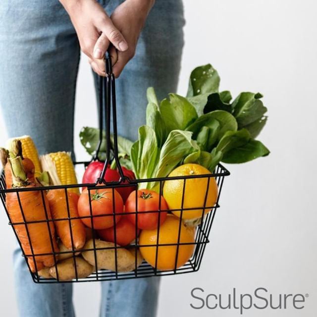 Healthy basket of food but still have the belly bulge?  SculpSure is a non-invasive laser body contouring treatment that targets & eliminates stubborn fat cells that are diet & exercise resistant.  Not to mention there's no downtime and most treatment times are only 25 minutes⏳ Target stubborn fat in your abdomen, flanks, thighs, arms, bra area & more!  Contact us at hillcountryvitality.com to schedule a consultation!