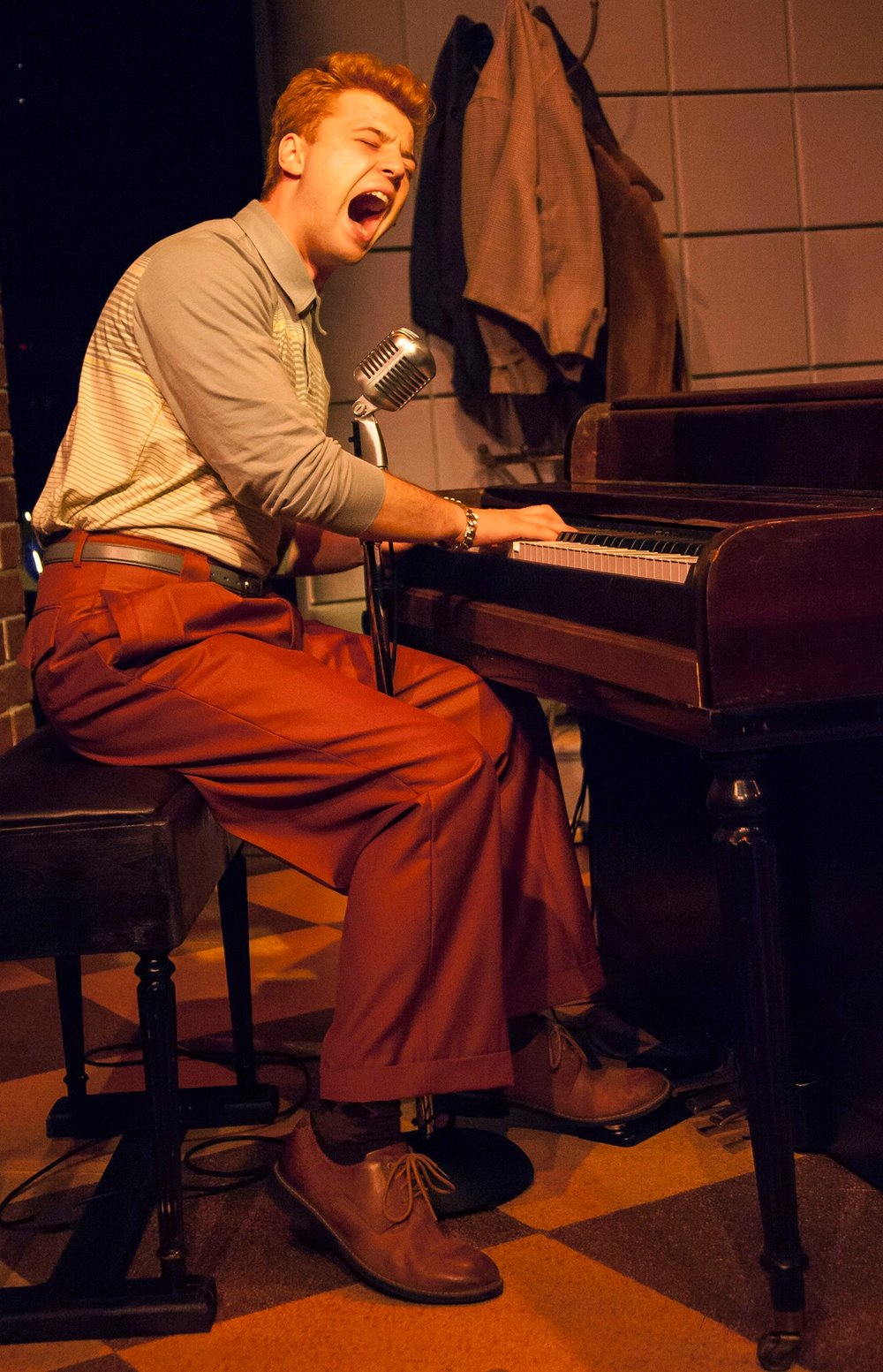 Brandyn Day as Jerry Lewis in Million Dollar Quartet