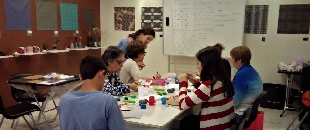 oficina de fériasEstamparia com Carimbo - Professora: Dayane Ziegler