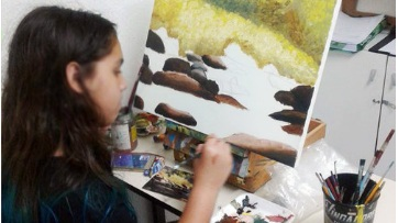 pintura tradicional   Além de terapêutico, a pintura tradicional é fundamental para quem quer desenhar ou trabalhar com arte.  Está esperando o que para aprender a pintar?    Saiba mais.