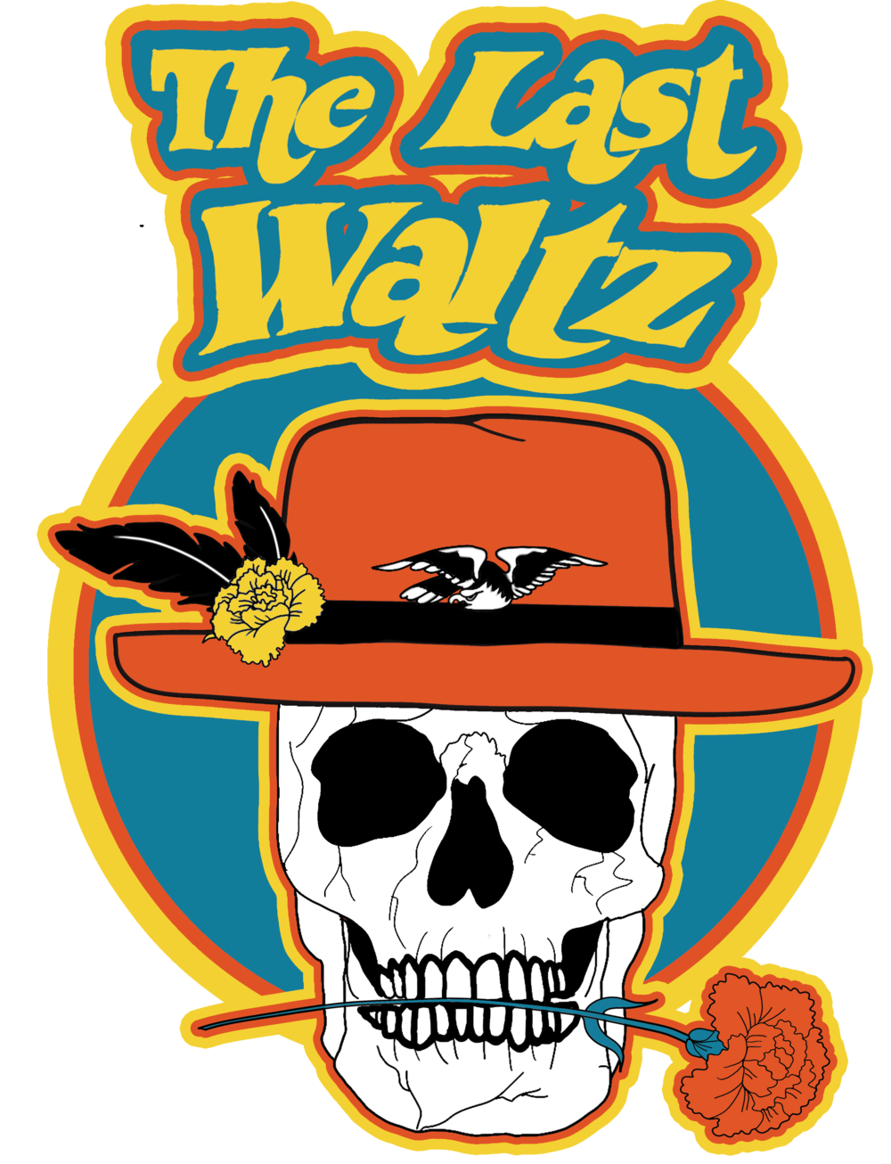 The Last Waltz design by Chi-Flo www.chi-flo.com (Jersey City)Shirtsprinted by A.B. Tees www.abtees1.com (Jersey City) -