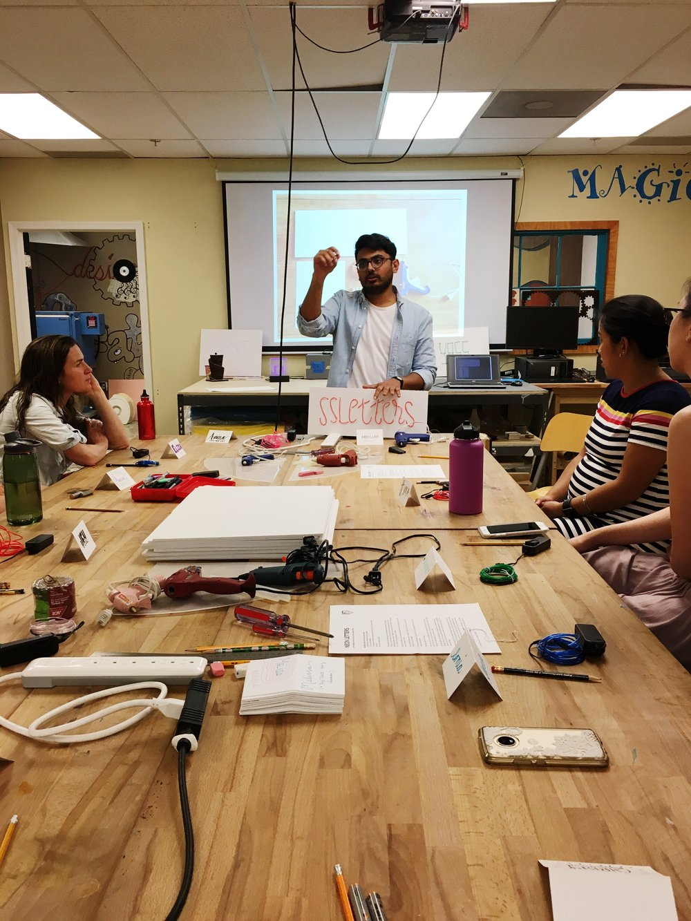 Neon Signs Workshop with Abdullah Syed