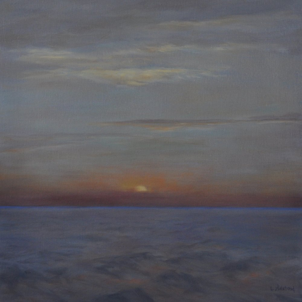 Heading South, Oil on Linen, 14 x 14, sold