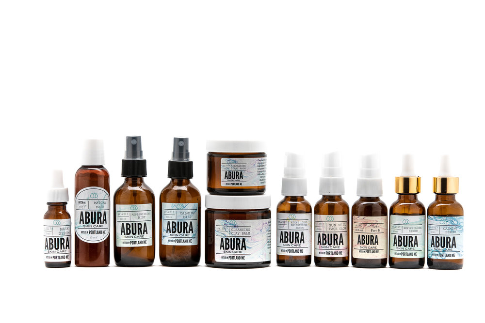 Veyda Rose features 100% Natural Products by Abura Skincare. -