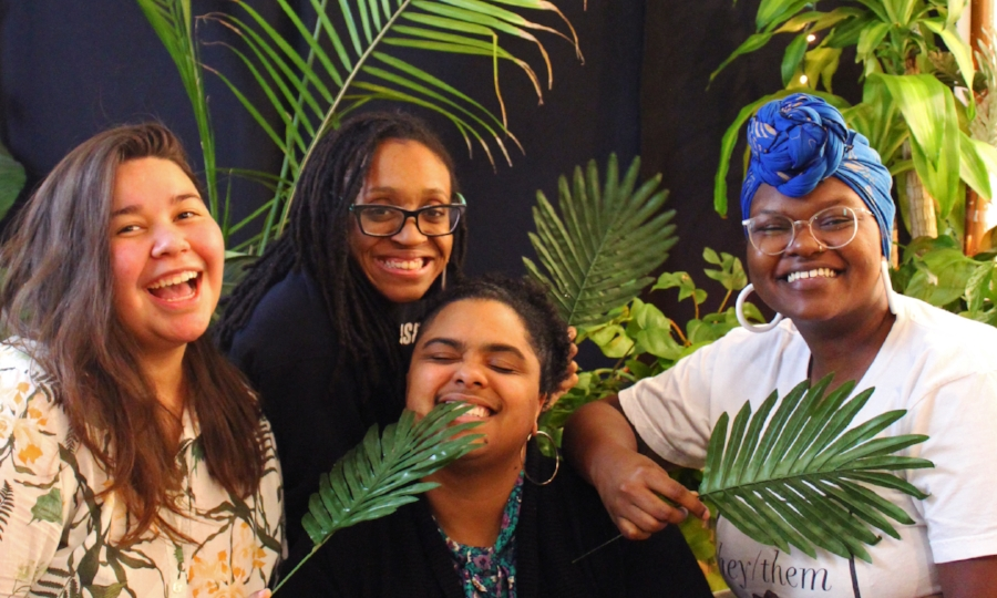 Me and my fellow core organizers at our Seeding Possibilities party this past Saturday!