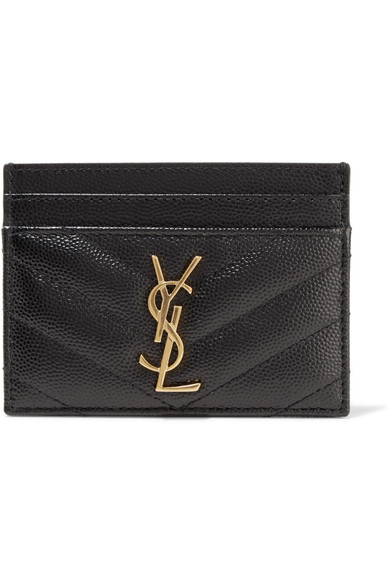 Saint Laurent Women's Monogram Card Case