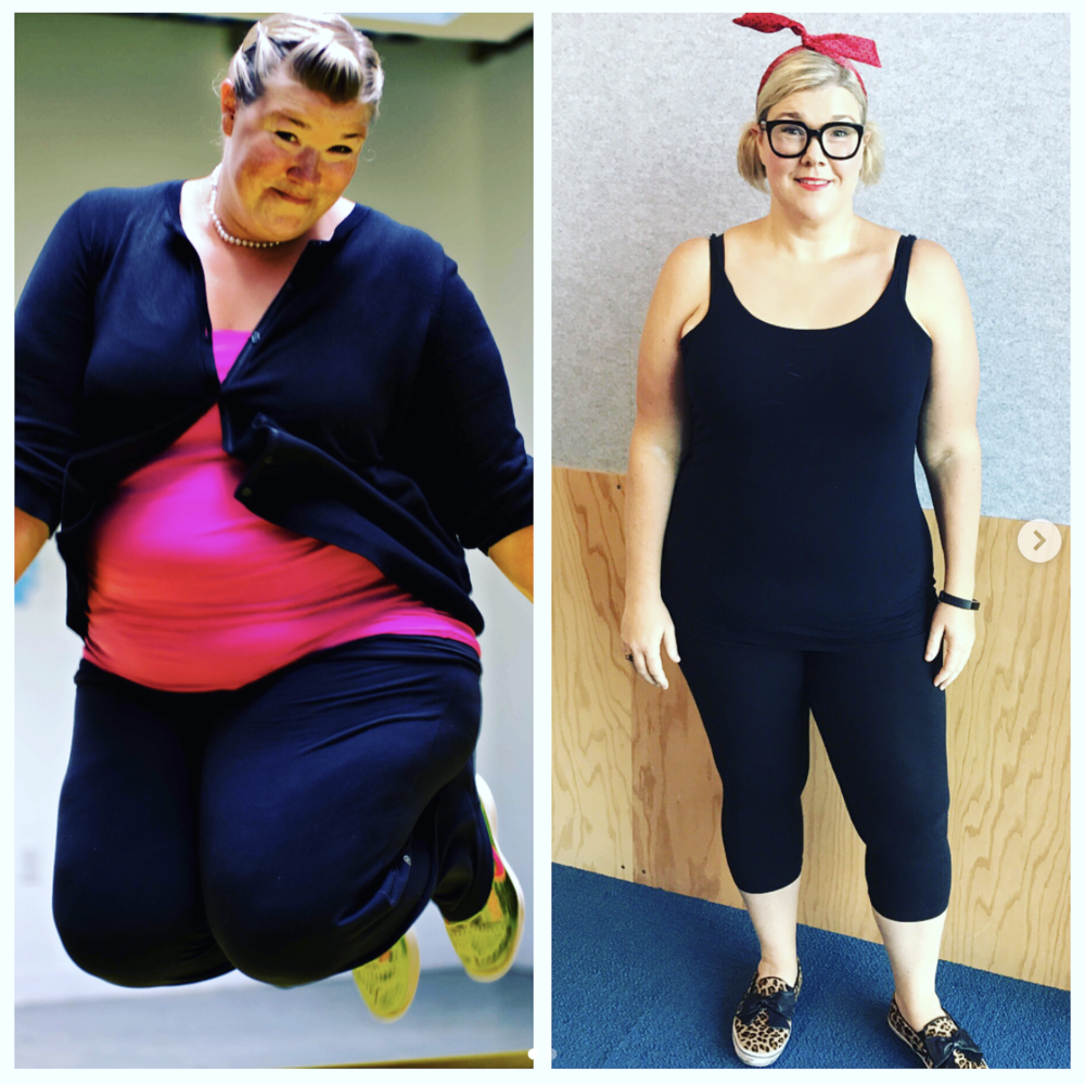 After reading an article by Jennifer Joffe, Holly VonDemfange realized she needed to lose weight. She contacted Joffe and has since shed almost 100 pounds.