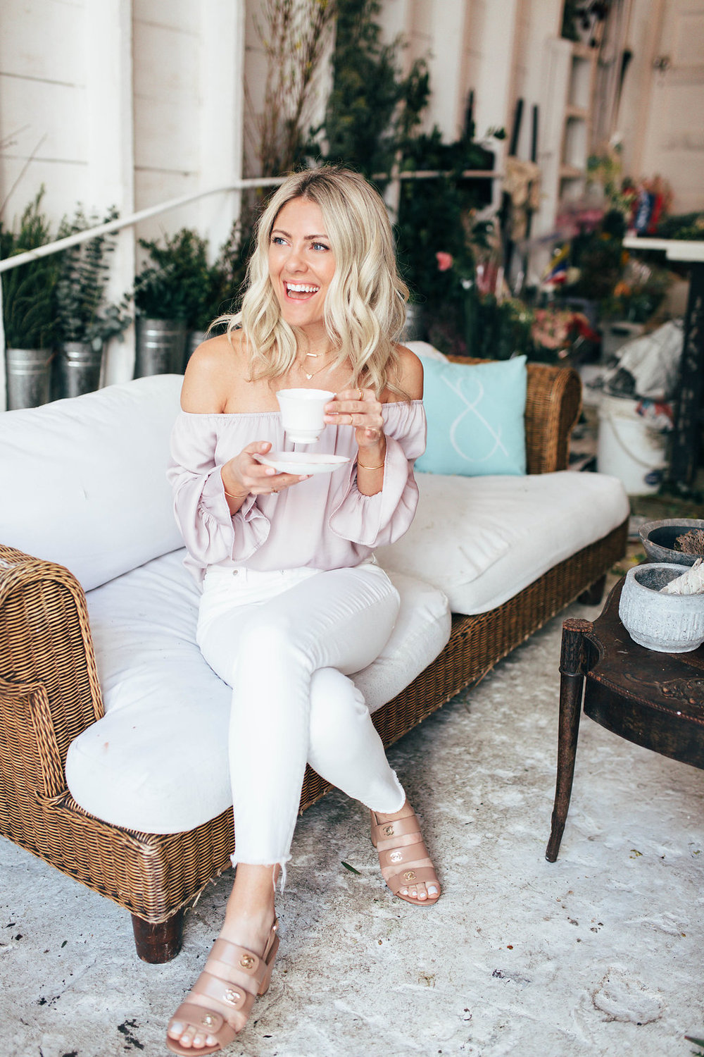 Katie Dean - Katie Dean is a jewelry designer of her eponymous line, Katie Dean Jewelry; a dainty, feminine line of jewels which is all handmade in Los Angeles. She's recently relocated to the Bay Area and loves pilates, her morning lattes and traveling.