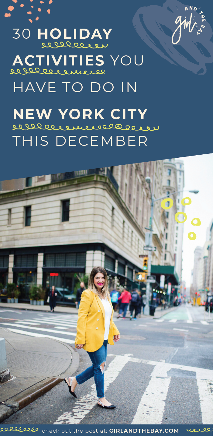 30 Holiday Activities You Have to Do in New York City This December