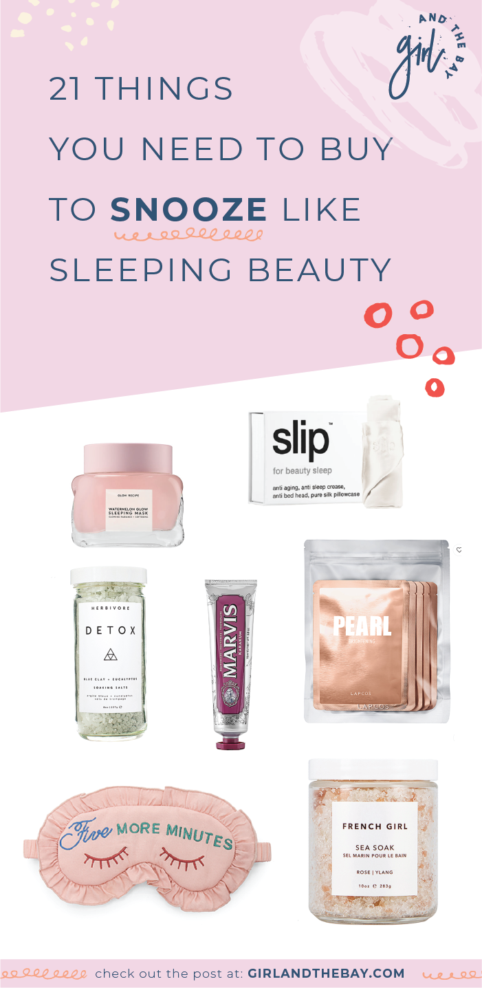 21 things you need to buy to snooze like sleeping beauty