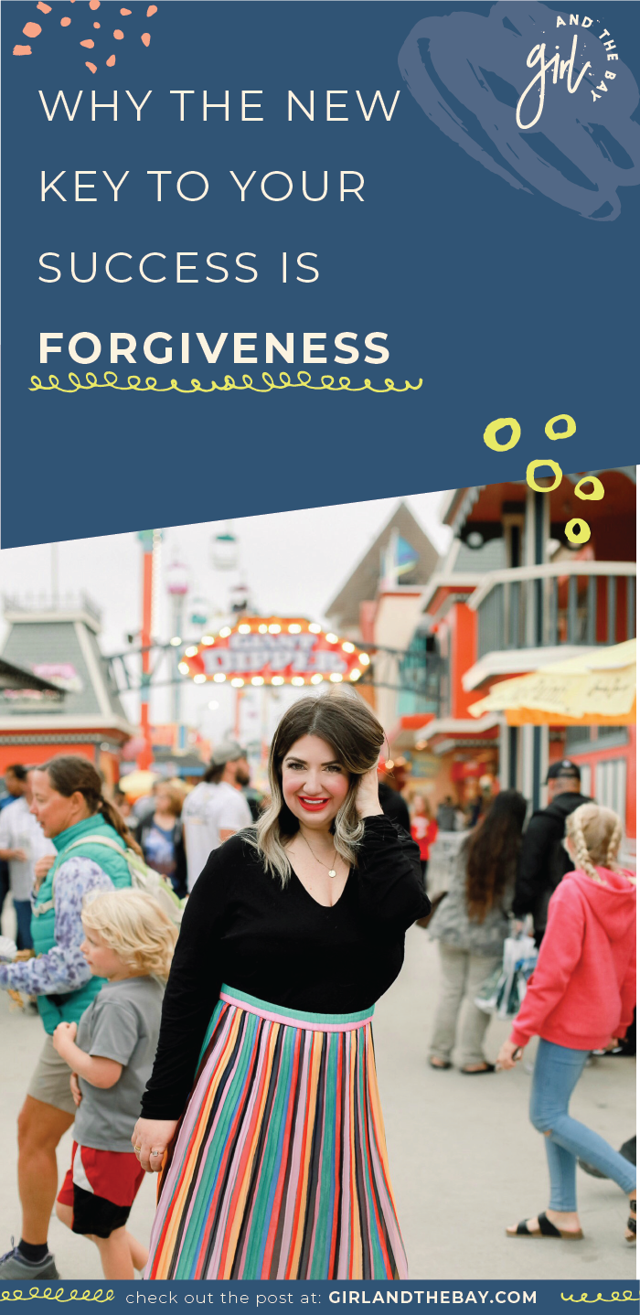 why the new key to. your success is forgiveness