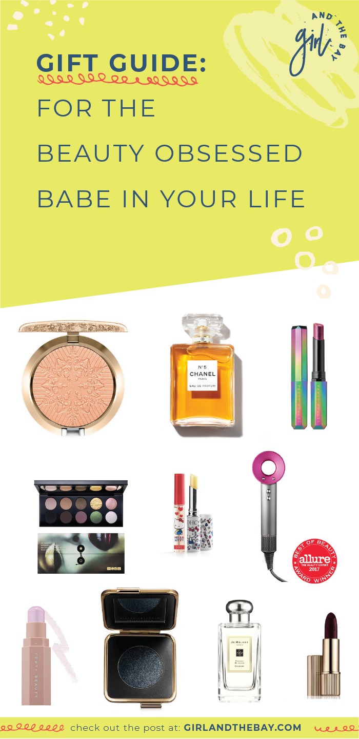 gift guide: for the beauty obsessed babe in your life