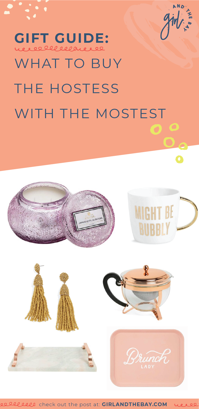 Gift Guide: What to Buy The Hostess with the Mostest