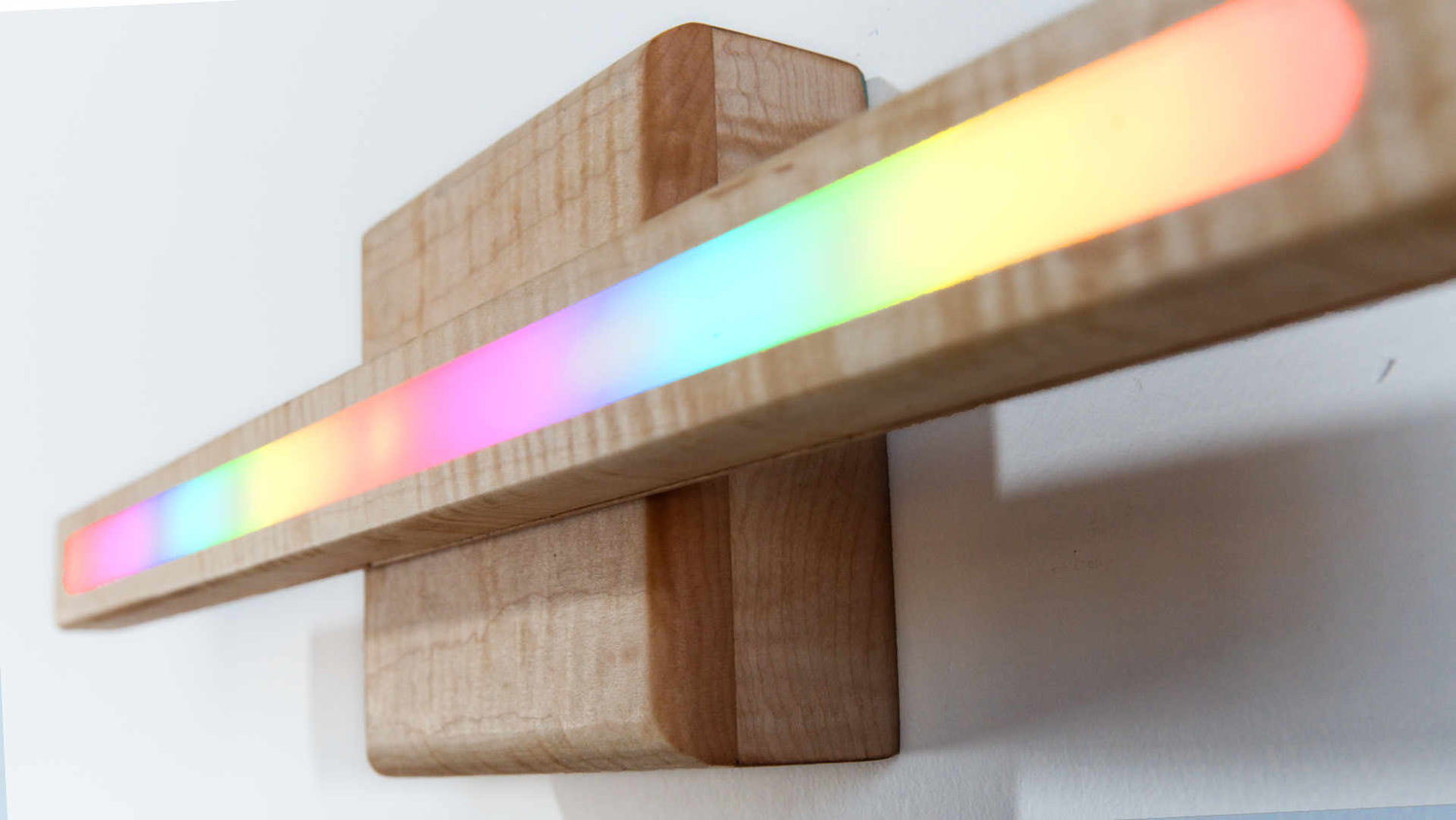 I made a wireless 3-in-1 RAINBOW RESIN lamp -- TRANSFORMS