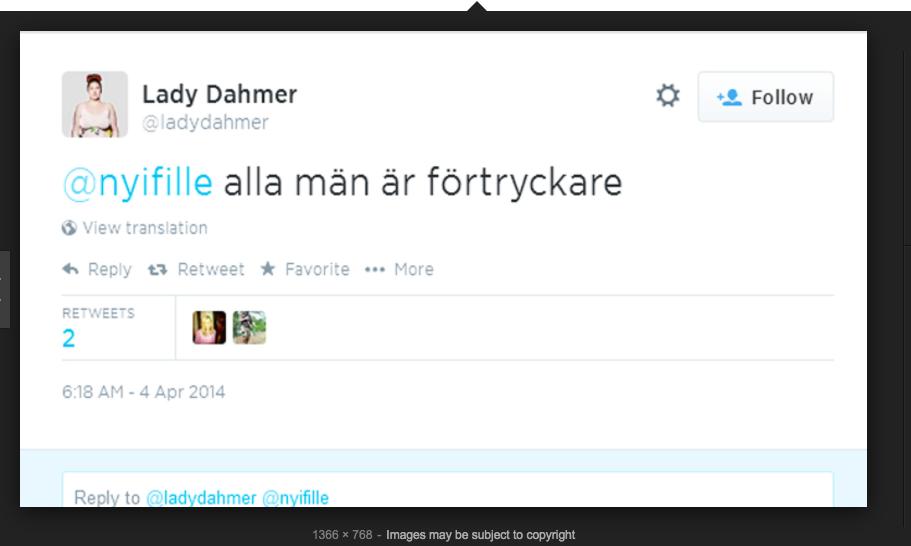 Lady Dahmer Alla män är förtryckare.png
