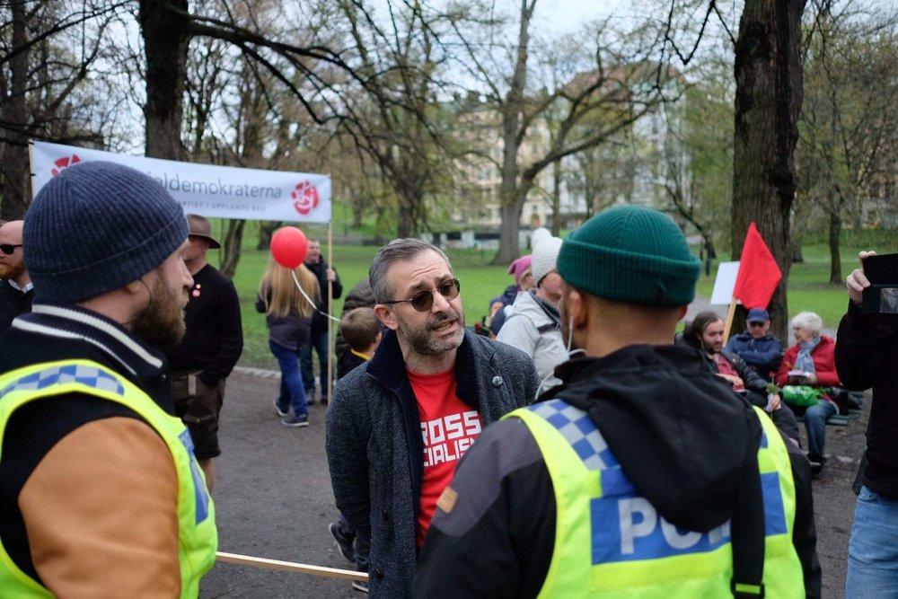 1 maj demonstrationerna 1 i korthet